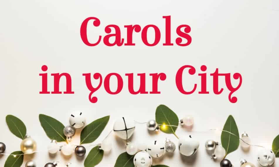 Carols in your City