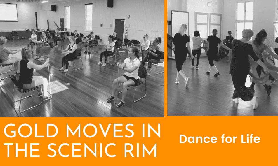 GOLD MOVES AUSTRALIA - Dance for Life in the Scenic Rim